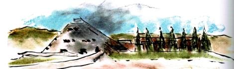 Antoine Predock Sketch
