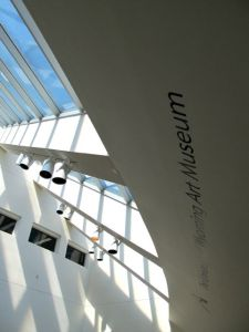 University of of Wyoming Art Museum Lobby Skylights