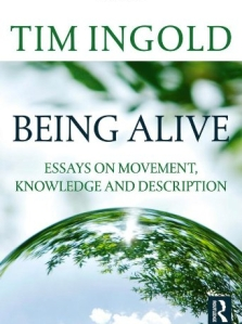 book cover of Being alive by Tim Ingold