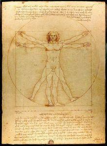 Leonard da Vinci Vitruvian Man