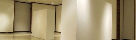 gallery view of empty Spurgeon Art Gallery
