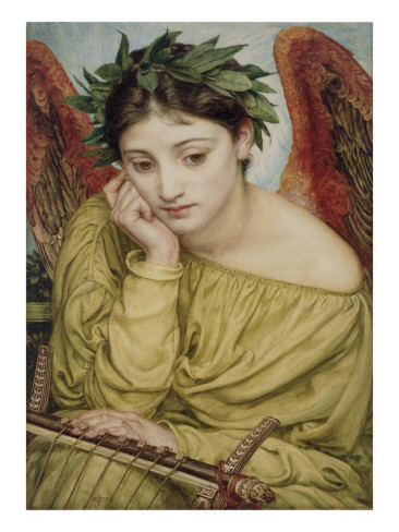 Erato the Muse of Poetry