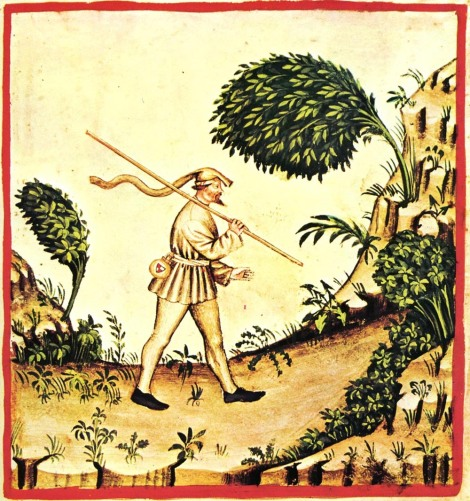 vintage illustration of wind from Wikipedia